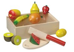 New Classic Toys Cutting meal Fruit box: Amazon.co.uk: Toys & Games