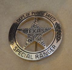 Special Ranger Badge made by Rick Lopez