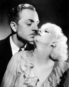 RECKLESS ~ William Powell & Jean Harlow in promotional press book photo Hollywood Cinema, Old Hollywood Movies, Hooray For Hollywood, Old Hollywood Glamour, Golden Age Of Hollywood, Hollywood Stars, Classic Hollywood, Vintage Hollywood, Hollywood Couples