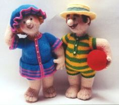 Albert and Mabel - Alan Dart  I'm becoming totally obsessed with ALL of his patterns!