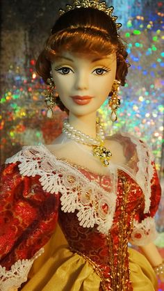 Prinecss of Holland Barbie by possiblezen, via Flickr