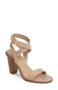 Free shipping and returns on Very Volatile Poshy Ankle Wrap Sandal (Women) at Nordstrom.com. Wraparound ankle straps and a chunky stacked heel keep your look fresh and breezy in a goes-with-everything sandal made with a lightly cushioned footbed.