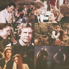 Star Wars: Episode VI - Return of the Jedi. Han and Leia... <3