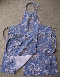 Coryna's Split-leg potter's apron! Ready to wear!