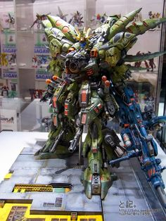 GUNDAM GUY: Gunpla Builders World Cup 2013 - Open Course Champion & Finalists Build On Display @ Gundam Front Tokyo (Diver City, Odaiba, Tokyo)