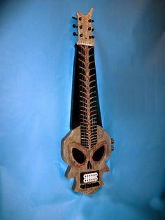 Skull Guitar. jA