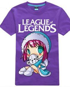 League of Legends Annie short sleeve t shirt cute cartoon-