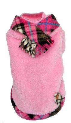 Alpes Rosa, abrigo para perros ideal para nuestra cachorritas en temporadas de frío