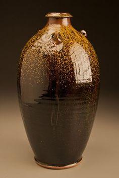 Ben Owen Pottery, Seagrove, NC. Tea Dust glaze.