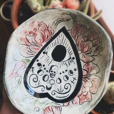 Photo by NYX+LORE Ceramics By Ashley in Salem, Massachusetts with @thespectralwitch, and @nyxloreceramics. Image may contain: 1 person, plant #Regram via @CBdxQ6CDm90