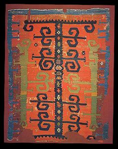 Early Yüncü kilim, Balikesir area, Turkey. Homaizi Collection, Kuwait