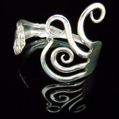 Unique Recycled Silver Fork Bracelet in Original by MarchelloArt, $29.99