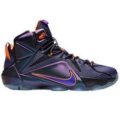 "more photos 80138 aa0c7 Nike LeBron XII ""Instinct"" Basketball Shoe - Cave Purple Hyper Grape Hyper"