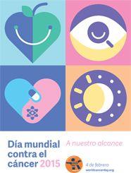 4 de Febrero 2015. Día mundial contra el Cáncer. Una detección oportuna puede salvar tu vida!