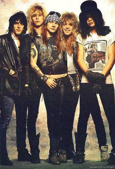 rock slash Guns N Roses axl rose duff mckagan matt sorum dizzy reed gilby clarke Guns N Roses, Rock And Roll, Pop Rock, Heavy Metal, Iron Maiden, Music Love, Good Music, Music Music, Rockers