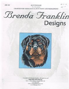 Cross Stitch Pattern - Rottweiler Dog Head Portrait Stitch Count 72 X 84    ****This listing is for the pattern ONLY and contains no supplies*****    I have more dog cross stitch patterns in the shop. You can see them all here;  https://www.etsy.com/ca/shop/BusyBeaverBoutique/search?search_query=dog+cross+stitch&order=date_desc&view_type=gallery&ref=shop_search    ******************************************************  SHIPPING INFORMATION    Please keep in mind that purchased items are…