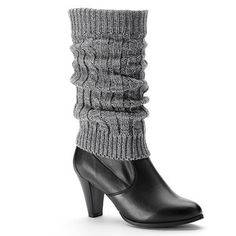 SONOMA life + style Lurex Cable-Knit Boot Toppers