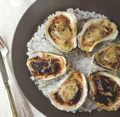 Butter-Roasted Oysters