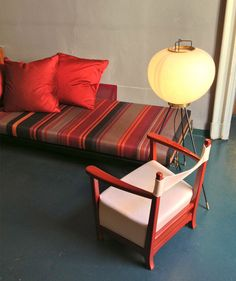 La casa imperfetta, an exhibition by Dimore studio. Furniture by Azucena. Italian traditional colors, dim and warm joined by gem colors and metals.