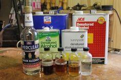 Types Alcohol For French Polishing #frenchpolishing #theartoflutherie