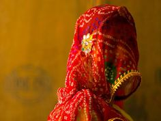 veiled woman india