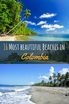 Colombia is not only known for its friendly people amazing cities like Medellin, Bogota but also for it´s incredibly beautiful nature.There you have the coffee zone, mountains, deserts, volcanoes and beautiful coastlines with stunning beaches. Not only Tayrona and Cartagena offer some spectacular beach-sides. Have a look at some of the most beautiful beaches in Colombia. Thanks a million for repining #colombia #beach #palmtrees #beautiful  #travel #southamerica
