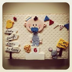 @mutludukkan | Webstagram Fondant Cakes, Gum Paste, Cake Decorating, Sugar, Cookies, Desserts, Diy, Pasta, Decorations