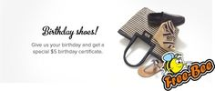 FREE $5 Gift Certificate at DSW on Your Birthday! #pinupnetwork