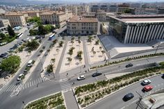 Front Square Of St Charles Station by Ilex Paysages & Urbanisme 01 « Landscape Architecture Works | Landezine