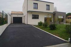 [Voie - allée - enrobée][Charente Maritime (17)] L'allée du garage juste finie.