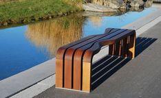 Диалог - Utebenk и контейнер для отходов - Норвежский дизайн и архитектура