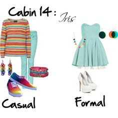 """Cabin 14: Iris"" by idmiliris on Polyvore"