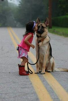 When we are together and have German Shepards, this will be our kid.