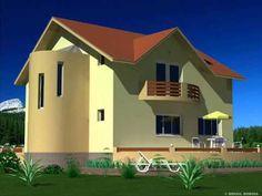 Casa Ib 34 Model de casa cu mansarda Bucuresti Home Fashion, Home Projects, Mansions, House Styles, Model, Home Decor, Mansion Houses, Homemade Home Decor