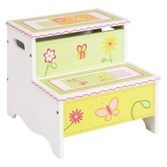 Have to have it. Guidecraft Gleeful Bugs Storage Step-Up - $44.95 @hayneedle