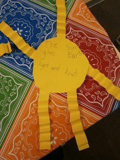 Kindergarten Kel: Day One of Weather Unit Fun!!  Sun and Wind