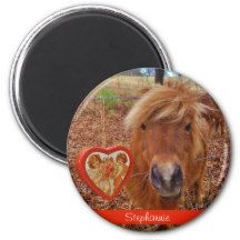 mini Valentine Heart red Fridge Magnet