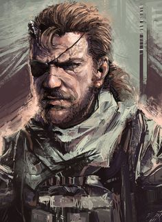 Had been a fan of mgs's art, but never get to play the game, never own any console before.