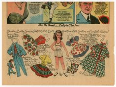 77.5852: Lorraine | paper doll | Paper Dolls | Dolls | National Museum of Play Online Collections | The Strong