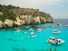 Discover Menorca Hidden Beaches Most Beautiful Beaches, Beautiful World, Beautiful Places, Vacation Travel, Vacation Trips, Travel Around The World, Around The Worlds, Places To Travel, Places To Go