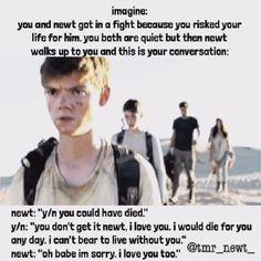 ❤❤ | Newt | The Maze Runner