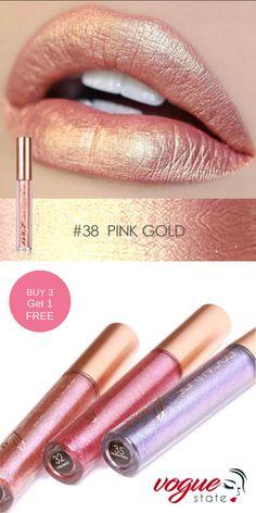 Makeup List, Lip Makeup, Makeup Cosmetics, Makeup Ideas, Lipstick Colors, Lip Colors, Liquid Lipstick, Frosted Lipstick, Metallic Lipstick