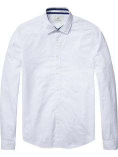 Oxford Shirt With Contrast
