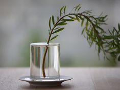 crystal vase by kazunaga sakashita for critiba