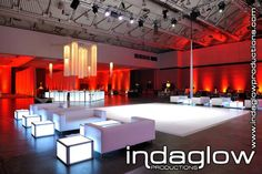 Awesome LED Furniture & Bar    www.indaglowproductions.com