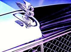 """""""Bentley"""" by Dietmar Scherf #cars #luxury #automobile #Bentley #purple #interiordesign"""