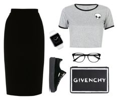 """""""SMPL2"""" by zsaraissa ❤ liked on Polyvore featuring L.K.Bennett, WithChic, Puma, Givenchy and EyeBuyDirect.com"""