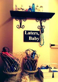 My bathroom organization ;)