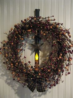 Primitive Country Wreath