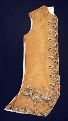 Waistcoat    Date:      ca. 1775  Culture:      French